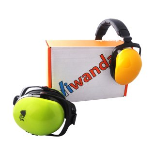 Viwanda Beethoven kids earmuffs green, foldable (drop...