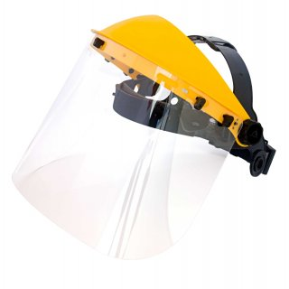 Viwanda Pro face shield with clear PC visor -...