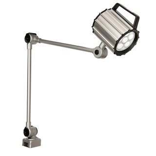 Viwanda LED Machine Light 24V 9W with 400x400mm Articulated Arm