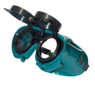 Welding Goggles with Round Lenses