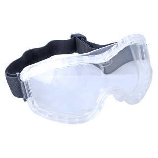 Wide Vision Safety Googles with Hard PC Lenses and...