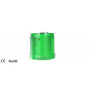 EMA LED Module Green Continuous 70mm 24V IP54