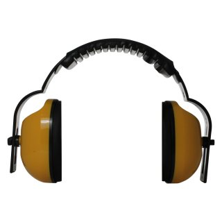 Fabi capsule ear protection - hearing protection in yellow, SNR 28dB
